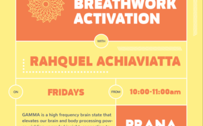 Release Breathwork Activation Every Friday