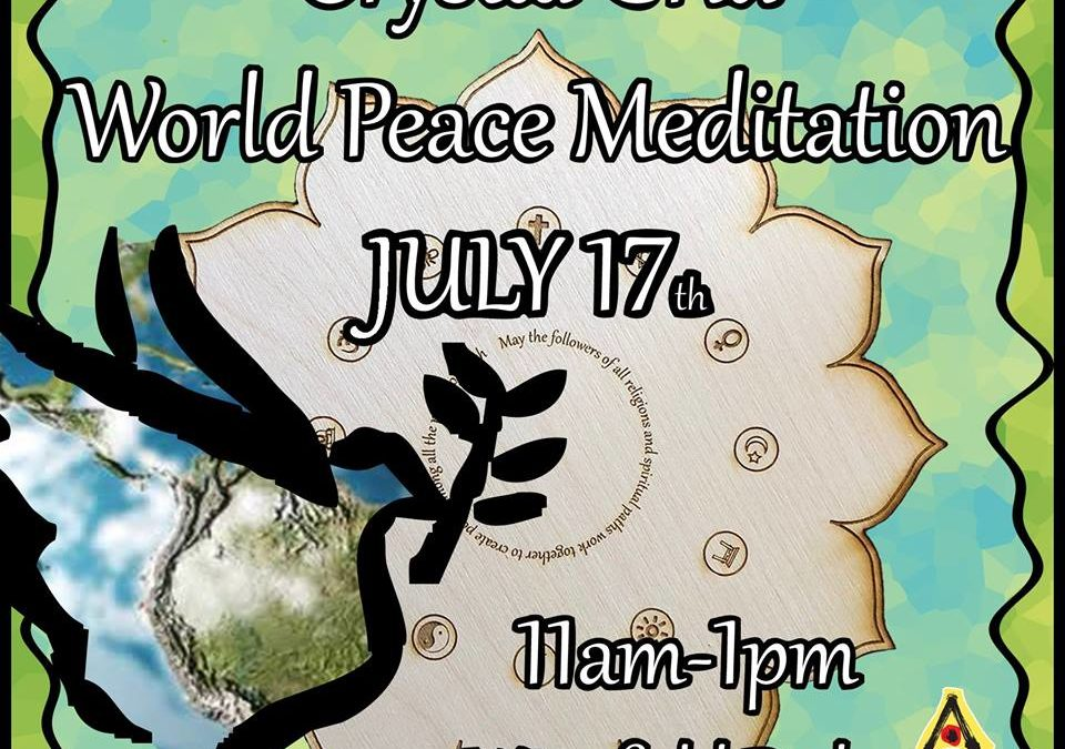 Artown Crystal Grid World Peace Meditation July 17th
